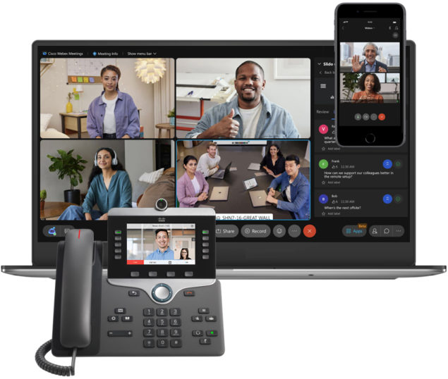 Collaboration with Webex by Cisco