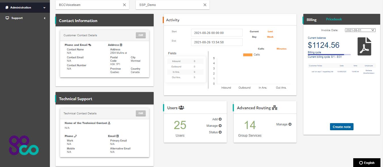 GoCo VoIP Self Serve Portal